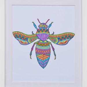 abeja color