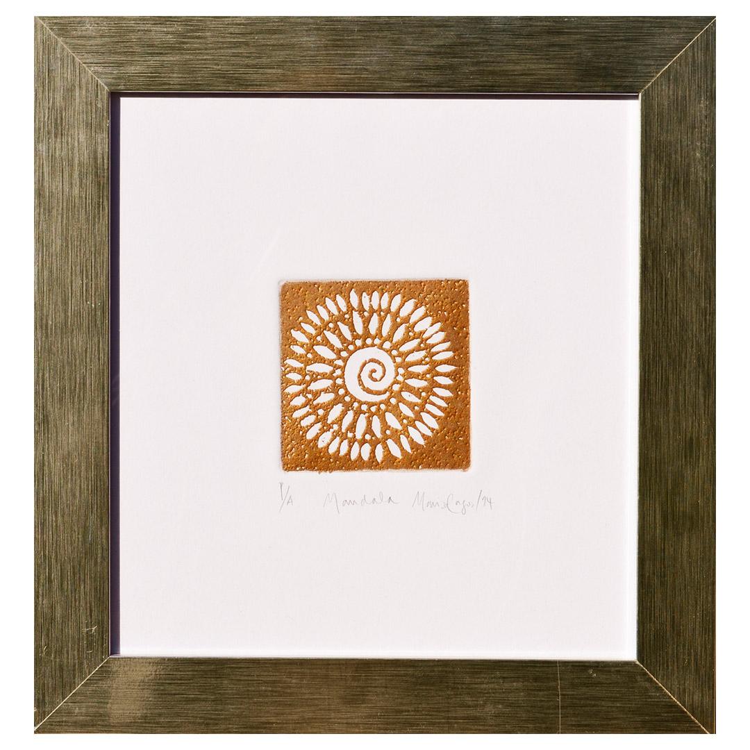 Mandala Dorado
